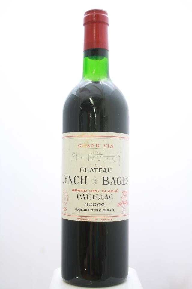 Lynch-Bages 1975