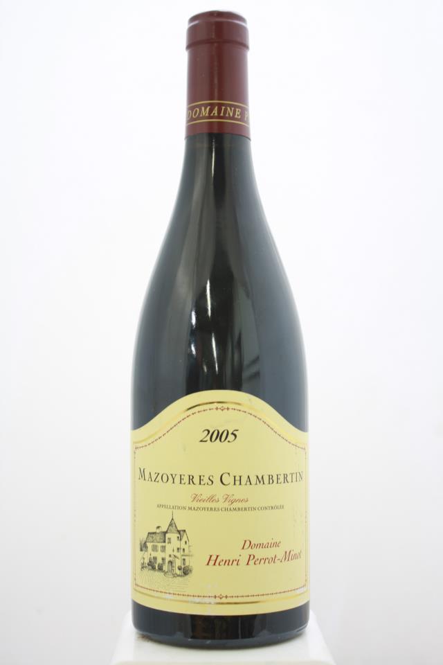 Domaine Henri Perrot-Minot Mazoyeres Chambertin Vieilles Vignes 2005