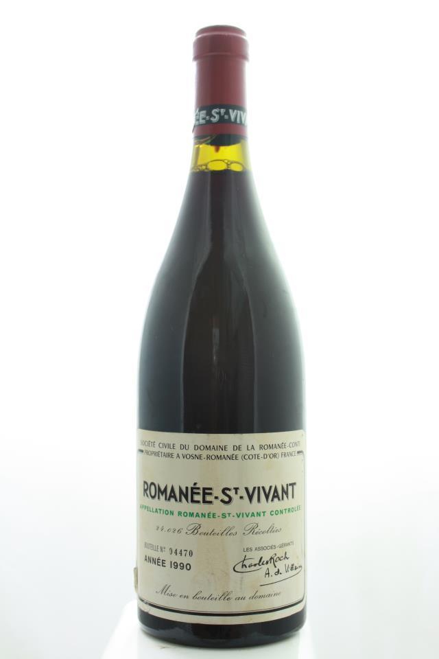 Domaine de la Romanée-Conti Romanée-Saint-Vivant Marey-Monge 1990