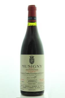 Comte Georges de Vogüé Musigny Cuvée Vieilles Vignes 2001