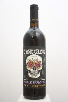 Chronic Cellars Proprietary Red Purple Paradise 2013
