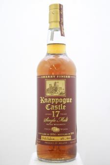 Knappogue Castle Single Malt Irish Whiskey Sherry Finish Twin Wood 1994