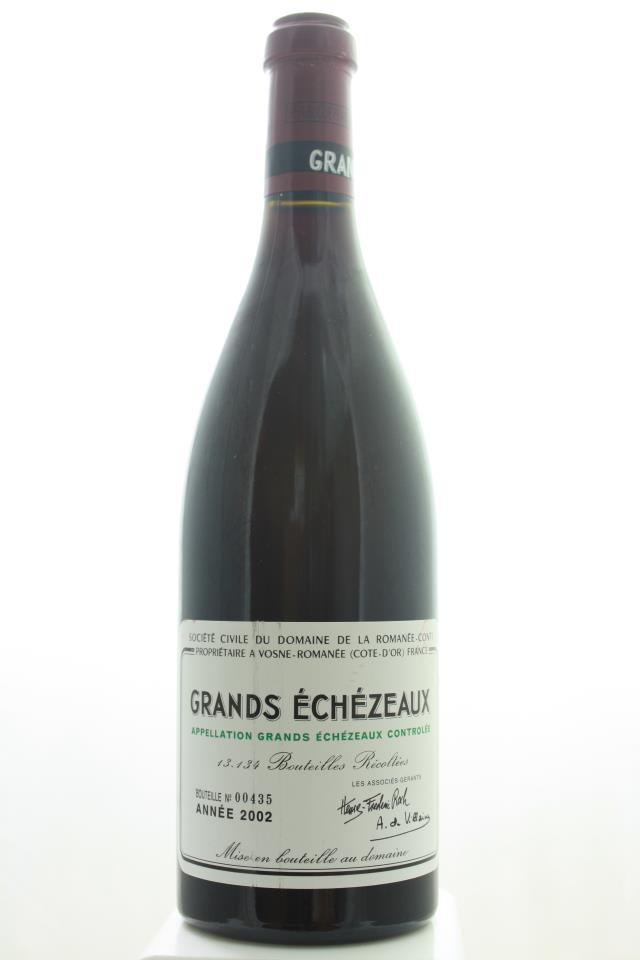 Domaine de la Romanée-Conti Grands Echézeaux 2002