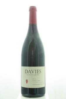 Davies Vineyards Pinot Noir Londer Vineyards 2012