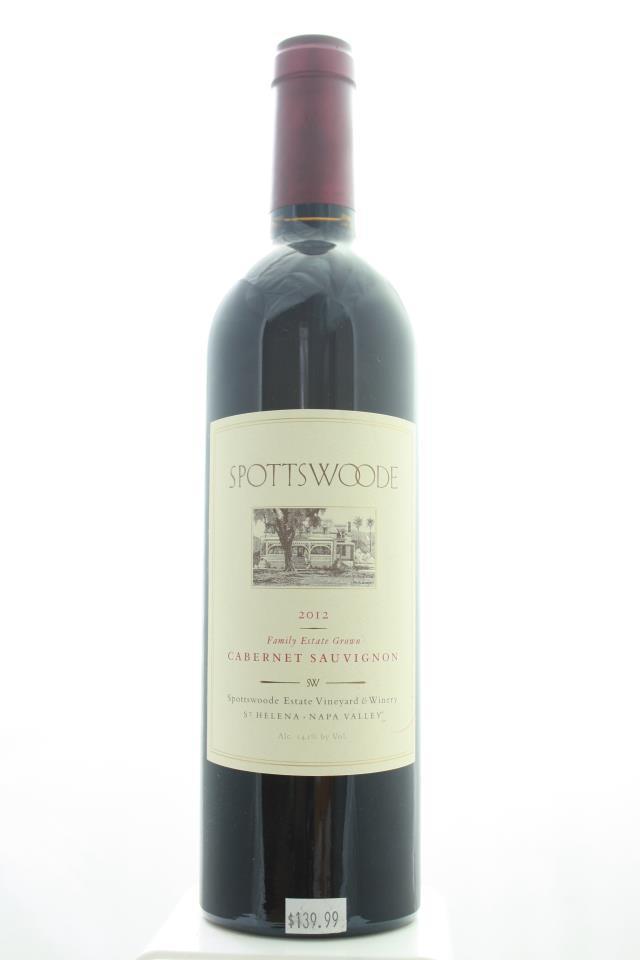 Spottswoode Cabernet Sauvignon Estate 2012