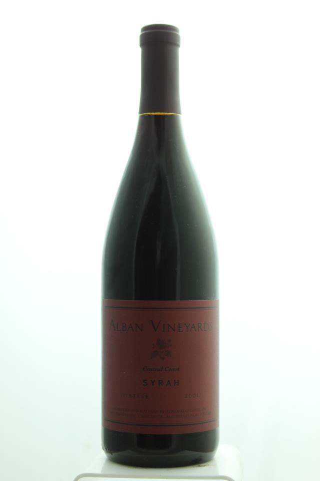 Alban Vineyards Syrah Central Coast 2001