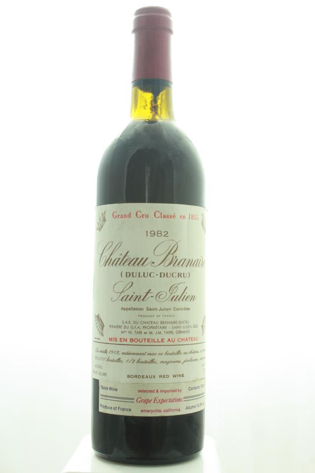 Branaire Ducru 1982