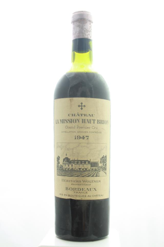 La Mission Haut-Brion 1947