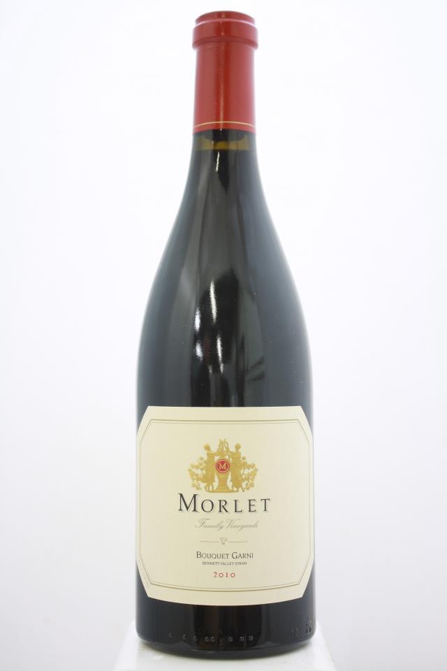Morlet Family Vineyards Syrah Bouquet Garni 2010