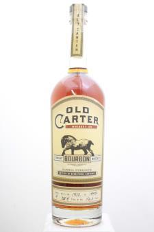 Old Carter Straight American Whiskey Barrel Strength Batch #4 NV