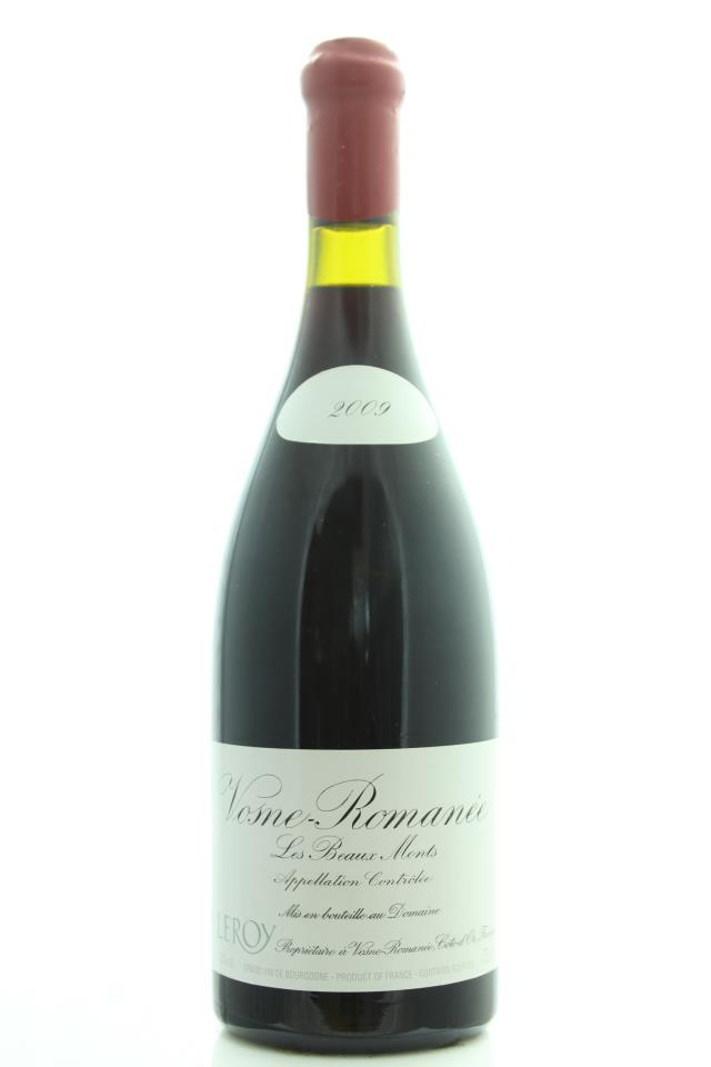 Domaine Leroy Vosne-Romanée Les Beaux Monts 2009
