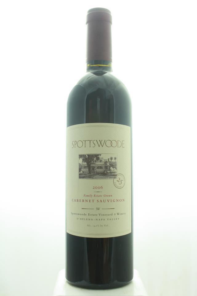 Spottswoode Cabernet Sauvignon Estate 2006