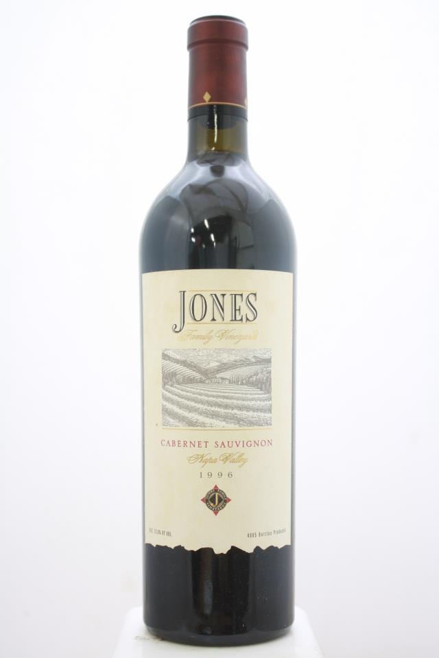 Jones Family Cabernet Sauvignon 1996