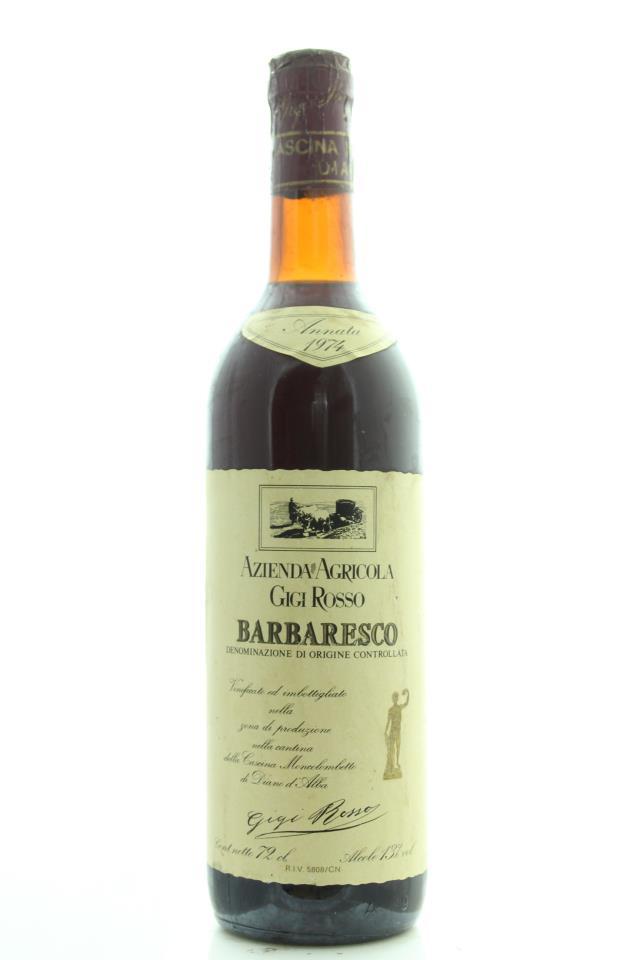 Gigi Rosso Barbaresco 1974