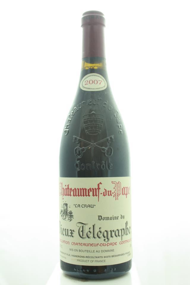 Domaine du Vieux Télégraphe Châteauneuf-du-Pape La Crau 2007