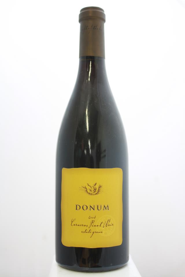 Donum Pinot Noir Estate Carneros 2004