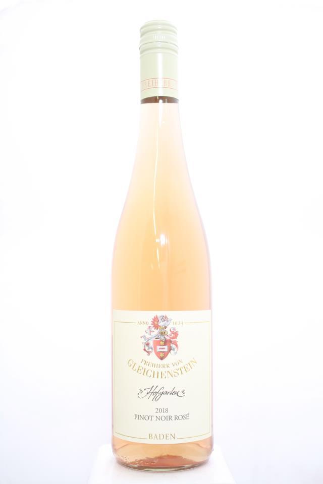 Freiherr Von Gleichenstein Pinot Noir Rosé Hofgarten 2018