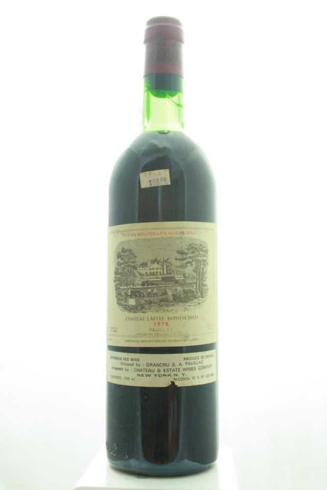 Lafite Rothschild 1978