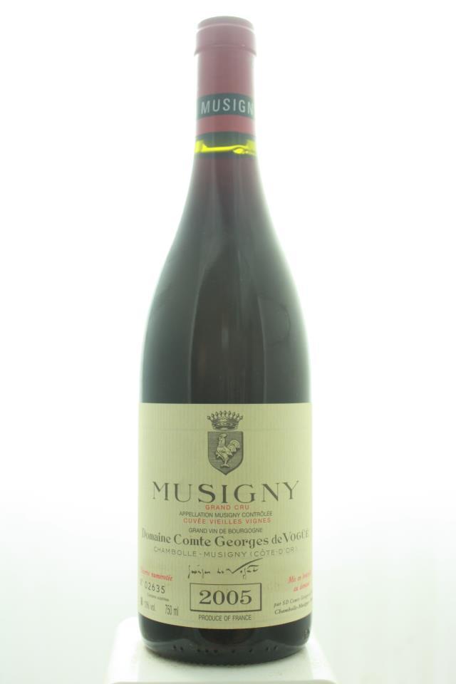 Comte Georges de Vogüé Musigny Cuvée Vieilles Vignes 2005