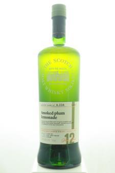 The Scotch Malt Whisky Society Single Malt Scotch Whisky Single Cask Smoked Plum Lemondae 12-Years-Old 2004