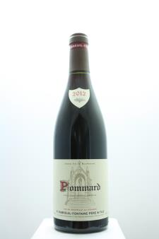 Dubreuil-Fontaine Pommard 2012