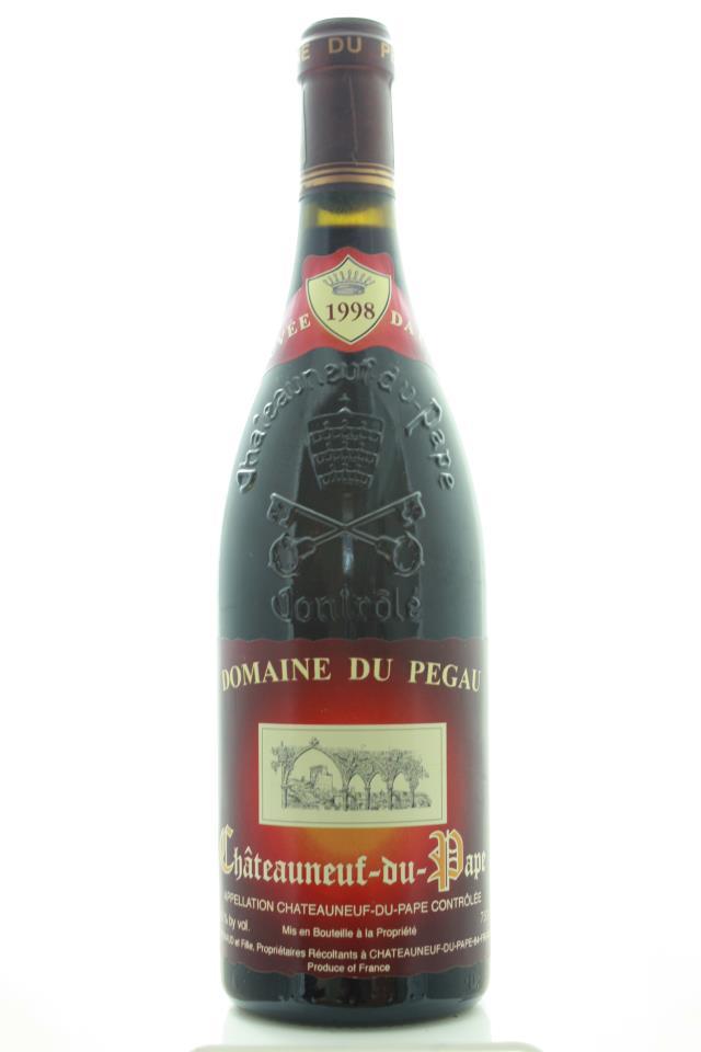 Domaine du Pégau Châteauneuf-du-Pape Cuvée da Capo 1998