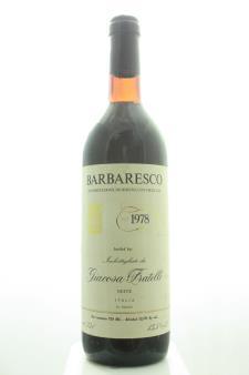 Fratelli Giacosa Barbaresco 1978