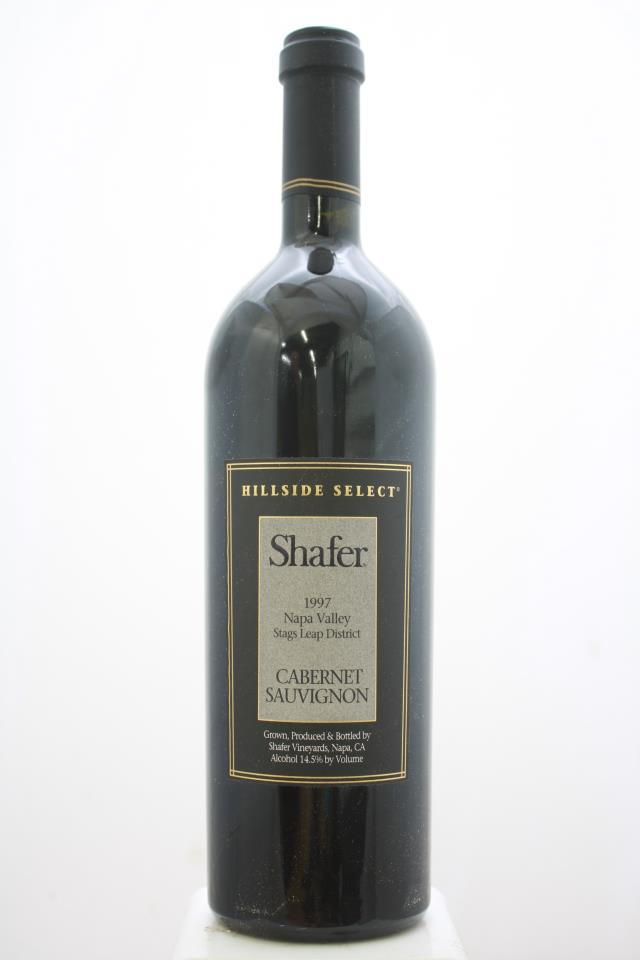 Shafer Cabernet Sauvignon Hillside Select 1997