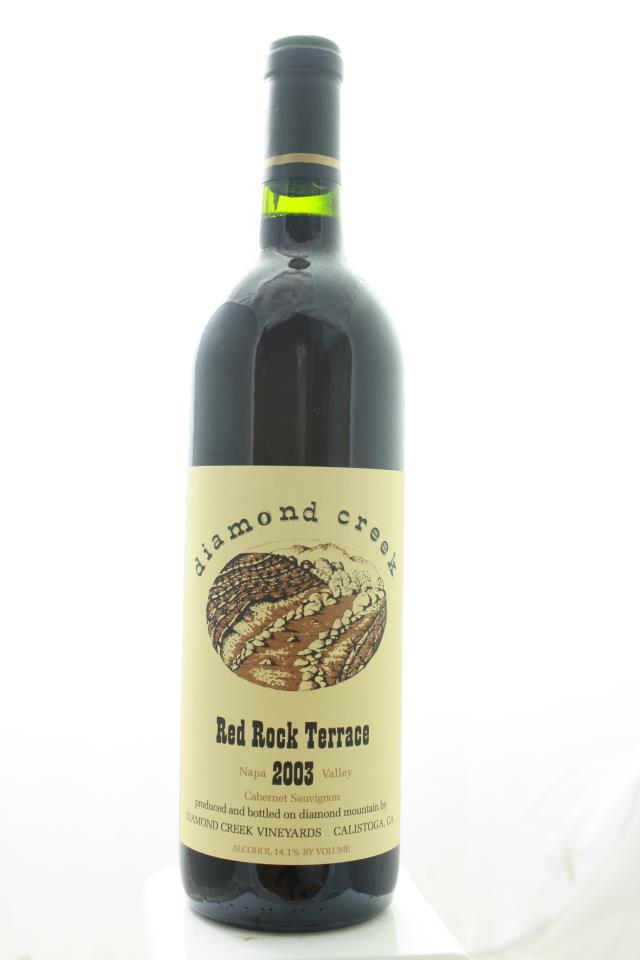 Diamond Creek Cabernet Sauvignon Red Rock Terrace 2003