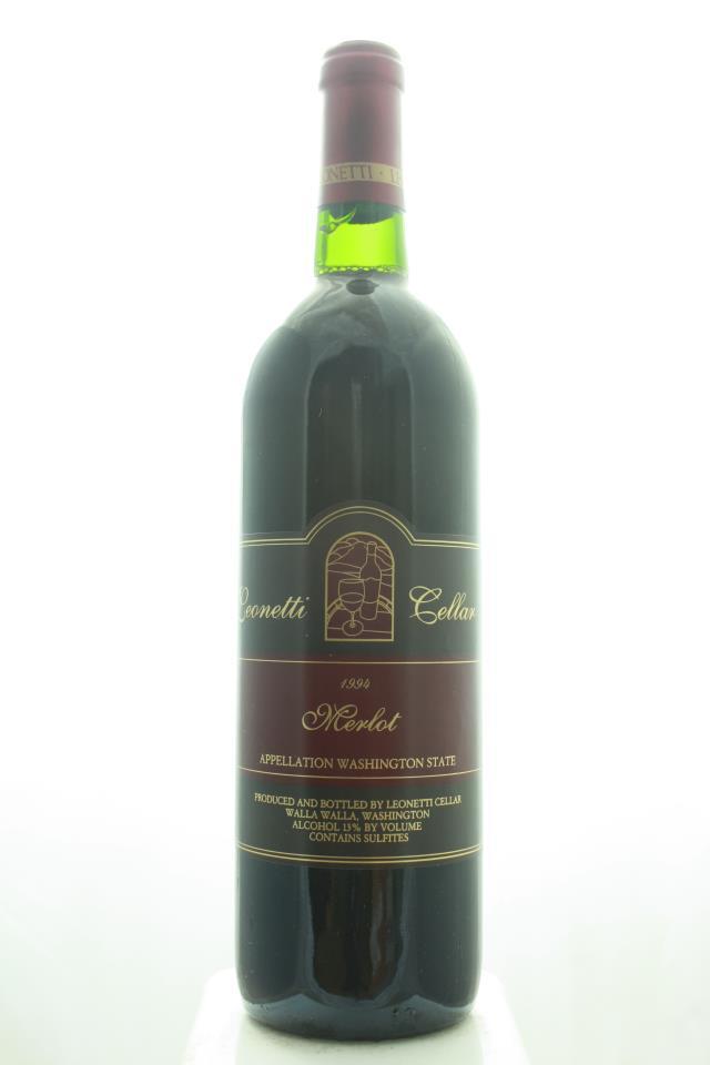 Leonetti Cellar Merlot Columbia Valley 1994