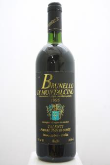 Talenti Brunello di Montalcino Podere Pian di Conte 1995