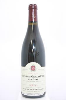 Bruno Clavelier Nuits-Saint-Georges Aux Cras Vieilles Vignes 2011