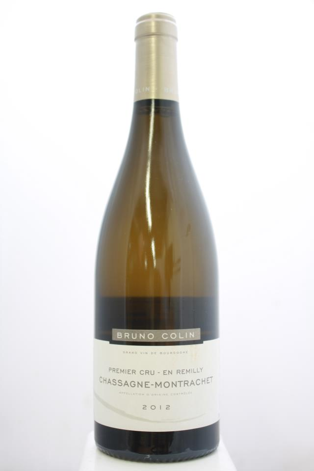 Bruno Colin Chassagne-Montrachet En Remilly 2012