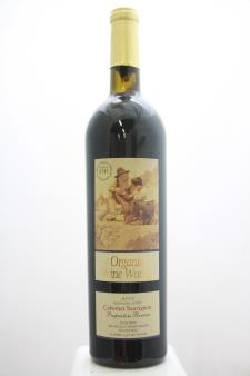 The Organic Wine Works Cabernet Sauvignon Proprietors Reserve 2001