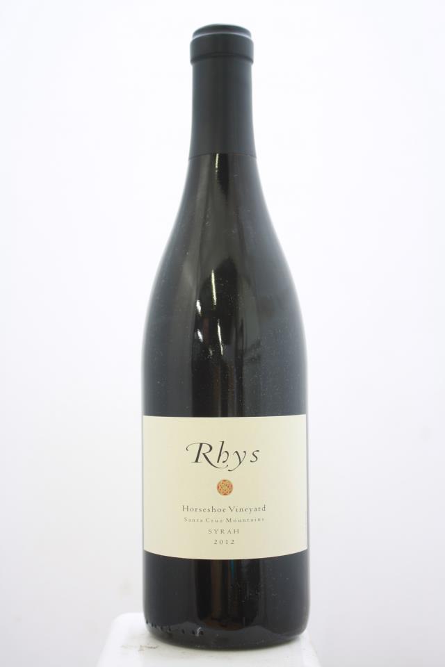 Rhys Syrah Horseshoe Vineyard 2012