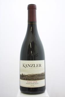 Kanzler Family Vineyards Pinot Noir Russian River Valley 2018