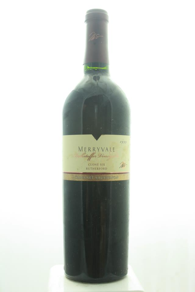 Merryvale Vineyards Cabernet Sauvignon Beckstoffer Vineyards Clone 6 1999