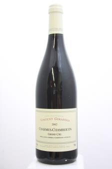 Vincent Girardin Charmes-Chambertin 2002
