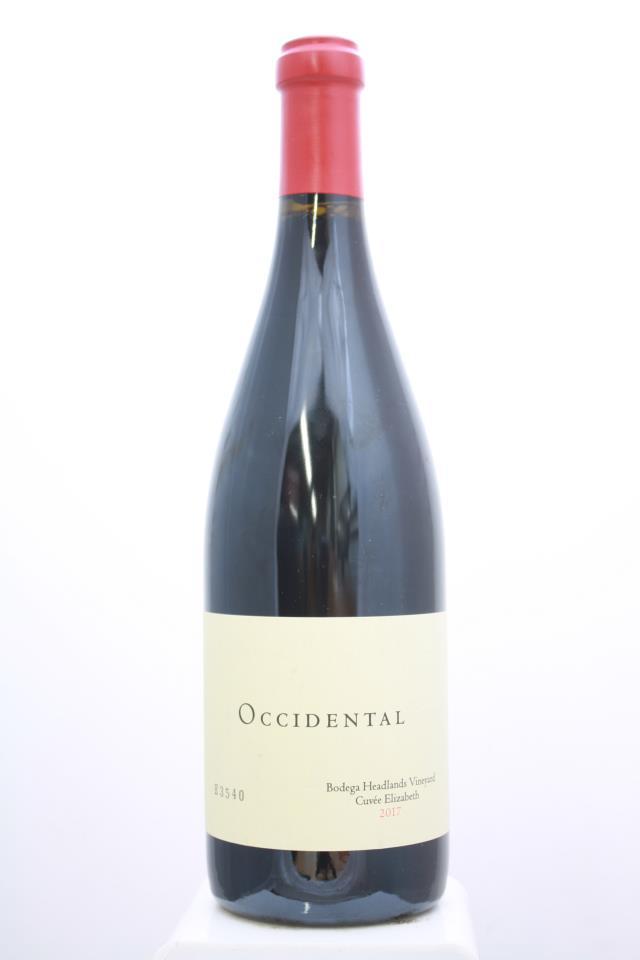Occidental Pinot Noir Bodega Headlands Vineyard Cuvée Elizabeth 2017
