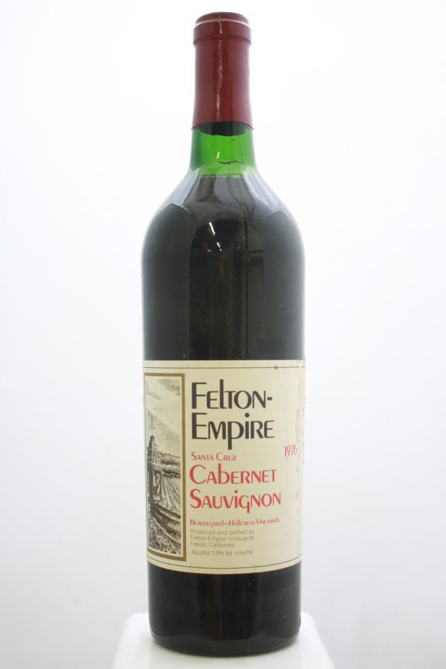 Felton-Empire Cabernet Sauvignon Beauregard-Hallcrest Vineyards 1976
