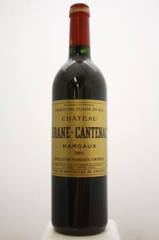 Brane-Cantenac 2001