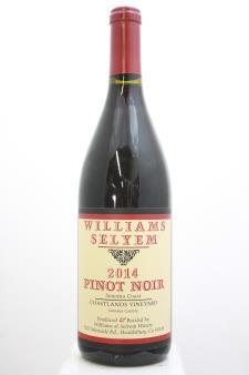 Williams Selyem Pinot Noir Coastlands Vineyard 2014