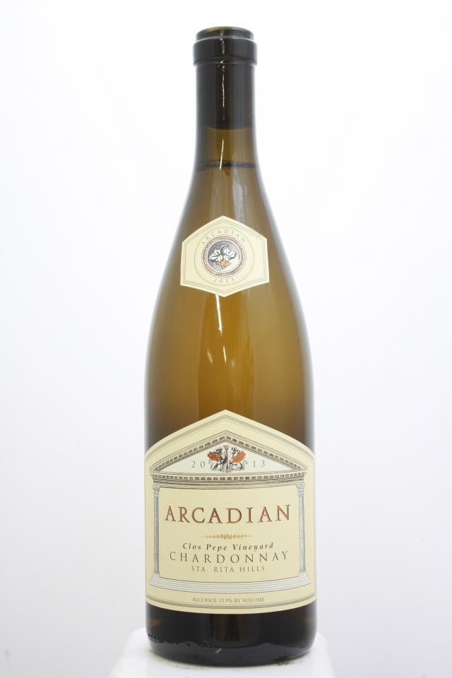 Arcadian Chardonnay Clos Pepe Vineyard 2013