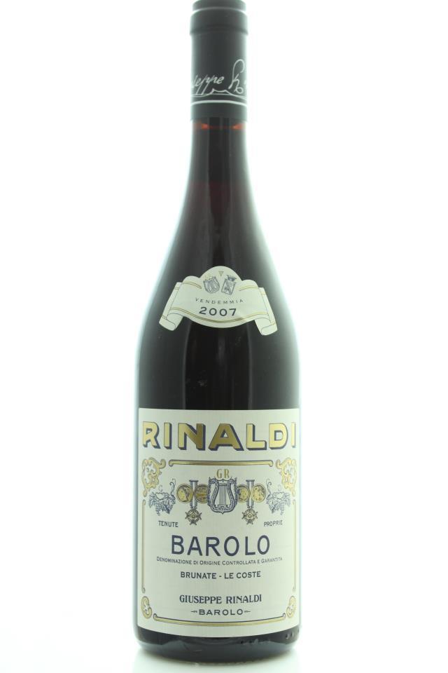 Giuseppe Rinaldi Barolo Brunate / Le Coste 2007