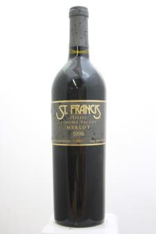 St. Francis Merlot Reserve 1996