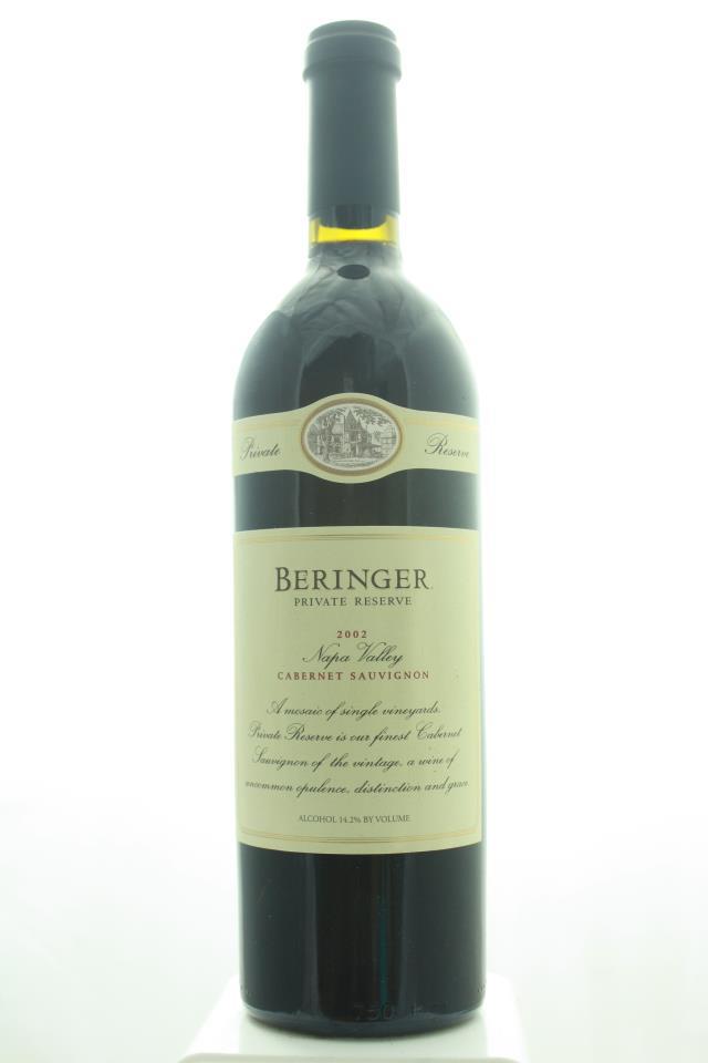 Beringer Vineyards Cabernet Sauvignon Private Reserve 2002