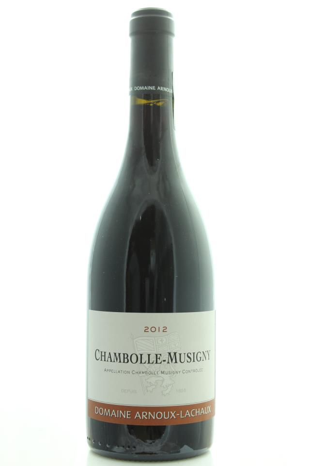 Arnoux-Lachaux Chambolle-Musigny 2012
