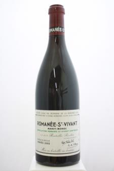 Domaine de la Romanée-Conti Romanée-Saint-Vivant Marey-Monge 2002