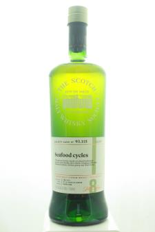The Scotch Malt Whisky Society Single Malt Scotch Whisky Single Cask Seafood Cycles 8-Years-Old 2010