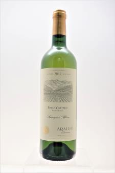Araujo Estate Sauvignon Blanc Eisele Vineyard 2012